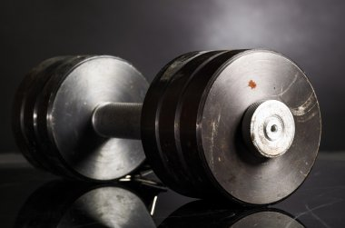Metal barbell