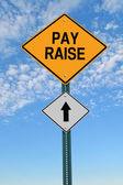 fizetés emelés előre roadsign