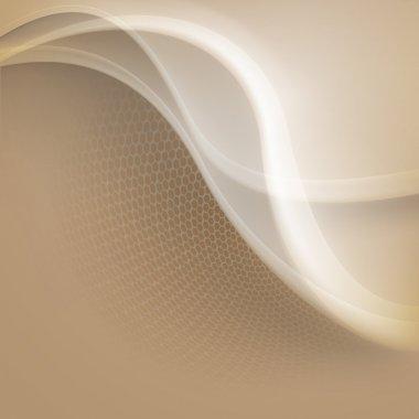 Abstract beige background stock vector