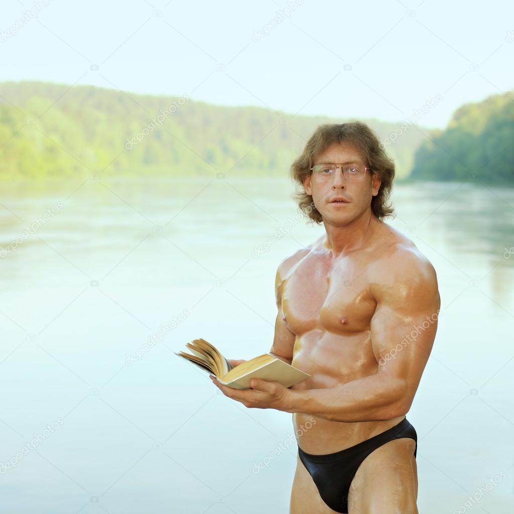 knula se naken på stranden