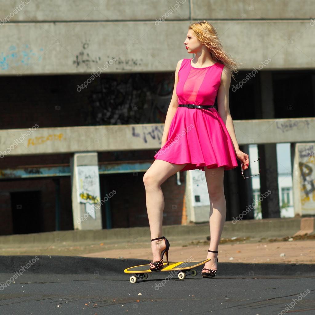 Mädchen in High Heels Bilder
