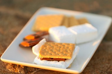 smores and its ingredients
