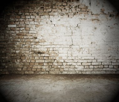 brick wall, vintage background