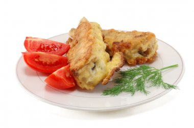 fried fish in batter