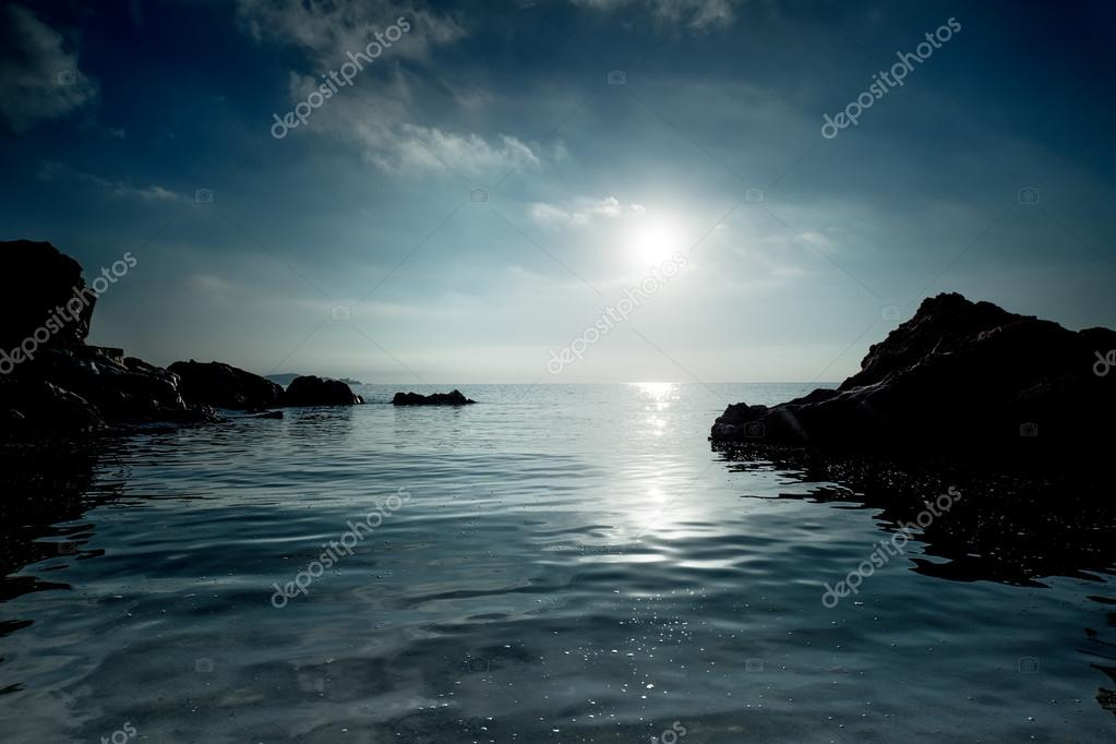 Фотообои Sea coast with rocks