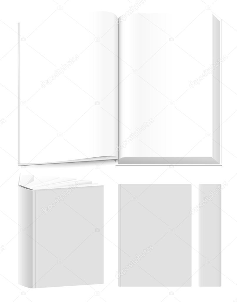 Buch Vorlagen — Stockvektor © ThomasAmby #26280777
