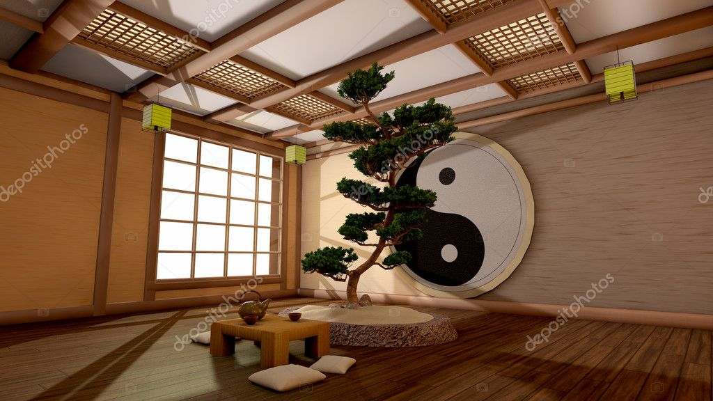Japanse interieur stockfoto sergeid 29547705 for Japanse stijl interieur