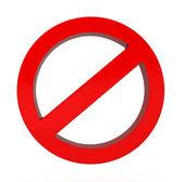 Fotografie Do Not red warning sign