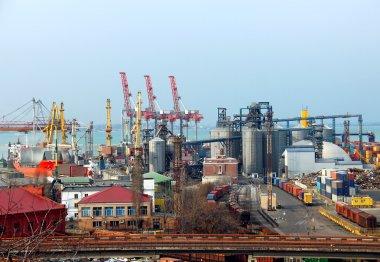 Odessa port, Ukraine