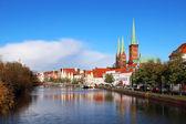 staré město Lübeck, Německo