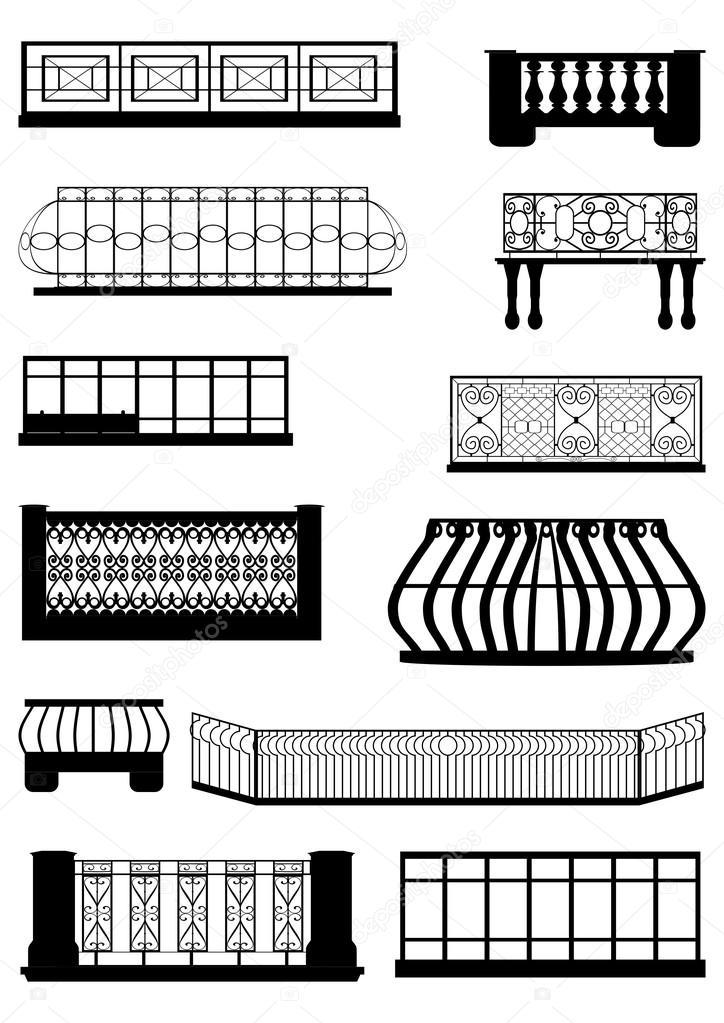 Balcones vector de stock prostoi58 31874785 for Balcony vector