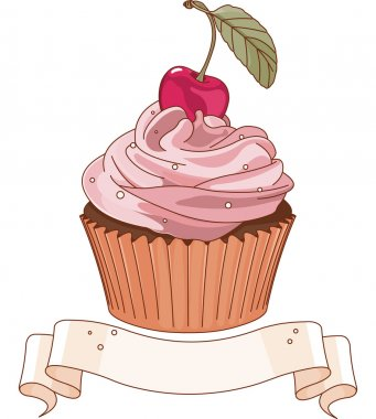 Beautiful cupcake