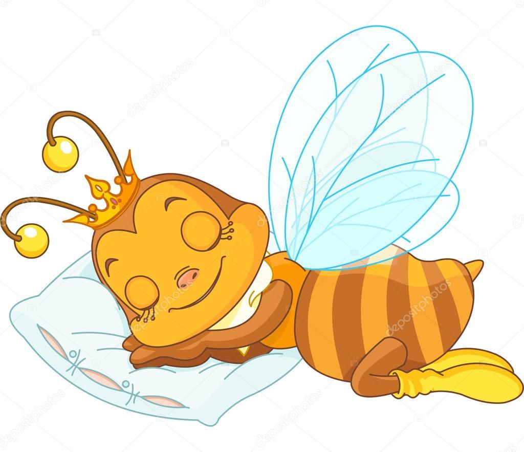 спящие пчелки картинки детям