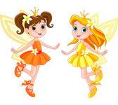 Photo Two cute fairies