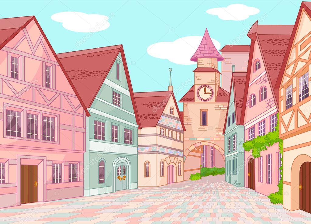 Little Europe town street