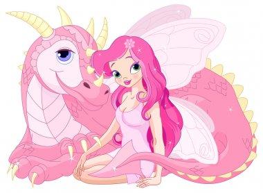 Magic Dragon and  Fairy