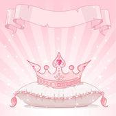 Fényképek hercegnő korona párna