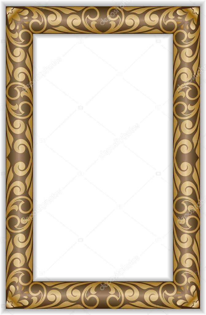 marco vertical — Vector de stock © Needle #13127304