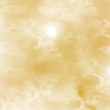 Abstract background, white clouds in beige sky.