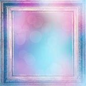 modré pozadí pro pozdravy nebo pozvánky s rozostření bokeh