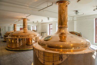The bar is at the heart of the Jacobsen House Brewery, where Carlsberg brews its 'Super-Premium' Jacobsen beer. Bar Jacobsen serves over 40 different beers and offers a rustic bar atmosphere, overlooking one of the world's most modern brewing house stock vector