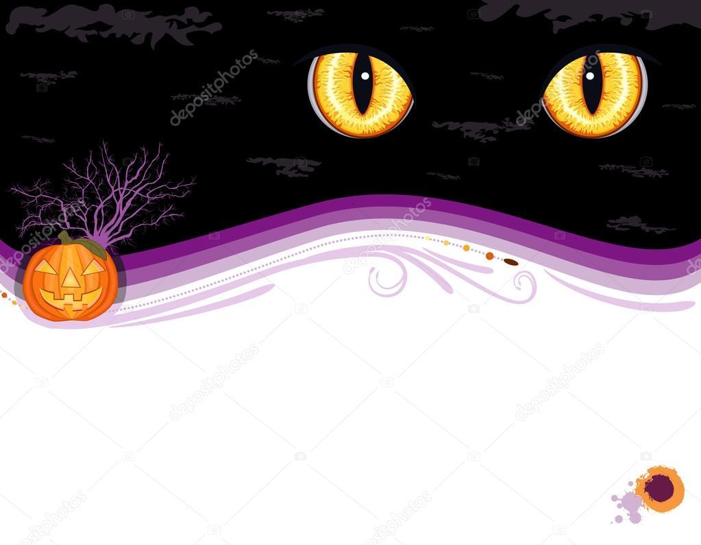 Grungy Halloween party invitation card — Stock Vector © Eireann ...