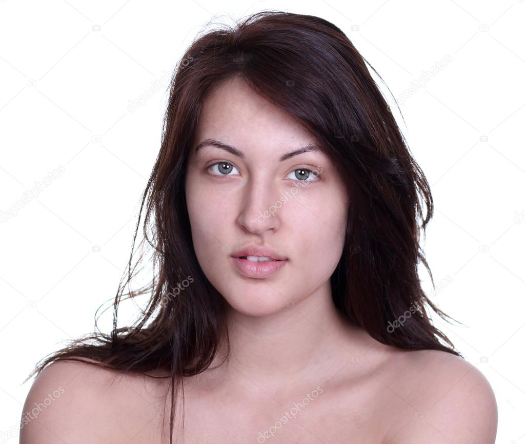 Portrait Of A Young Woman Without Makeup U2014 Stock Photo U00a9 Arkusha #12031729