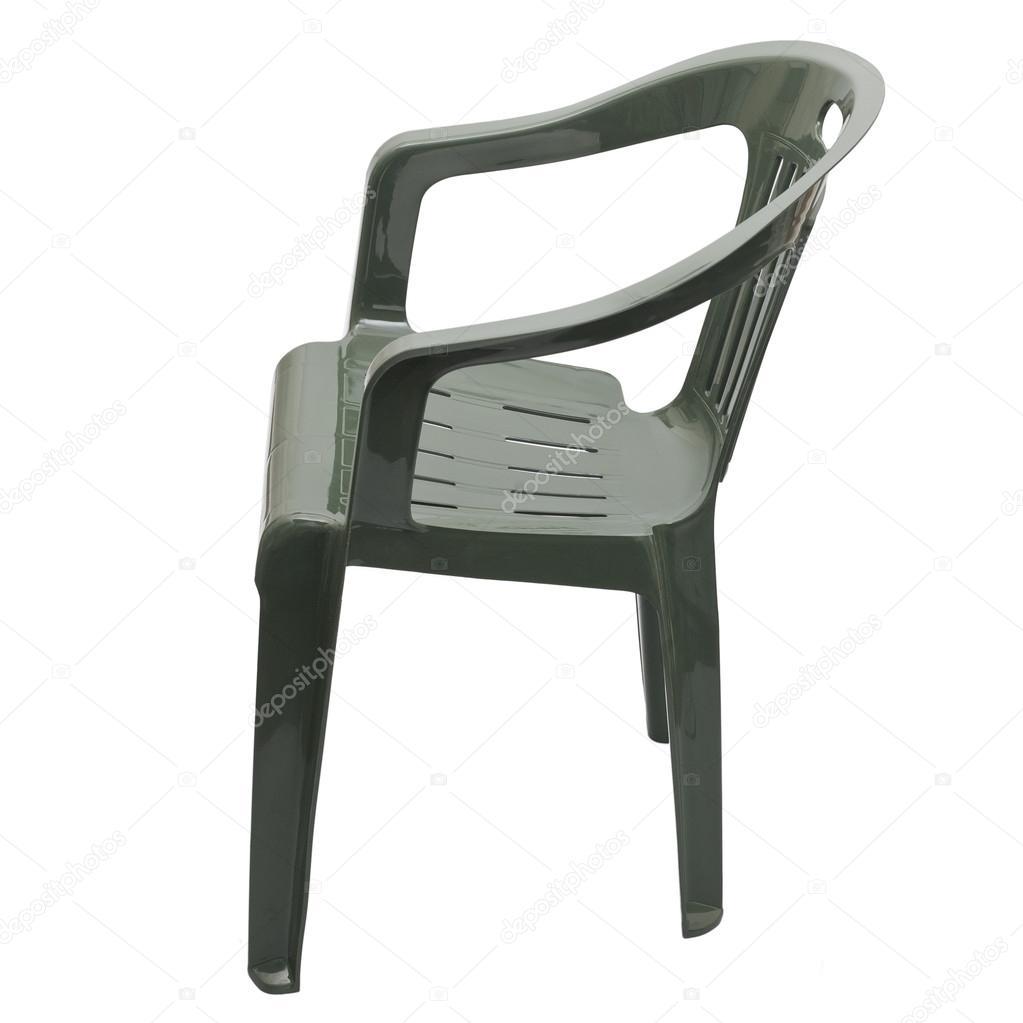 una sedia di plastica — Foto Stock © arkusha #19704437