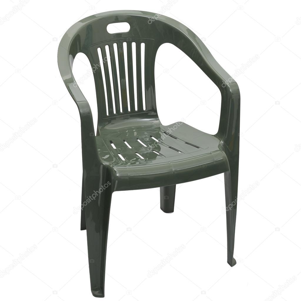 una sedia di plastica — Foto Stock © arkusha #19704461