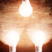 Fotografia lampade luminose