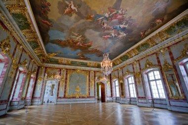 Interior Ballroom in Rundale Palace