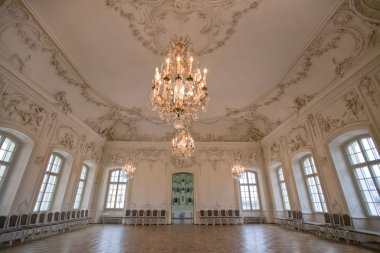 Interior Ballroom in Rundale Palace