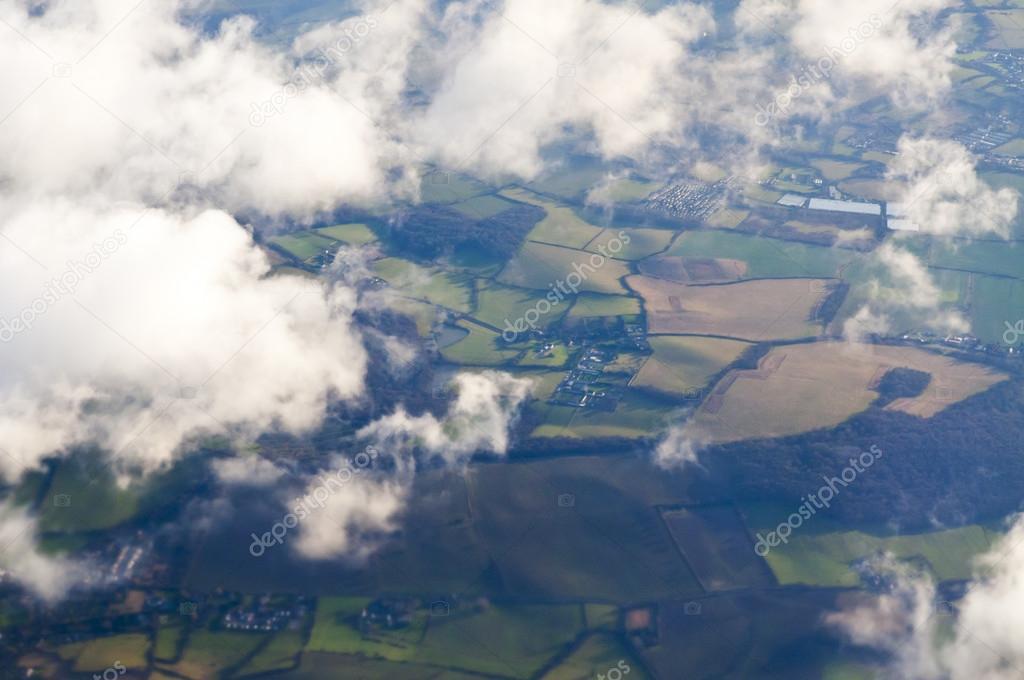 London area bird eye view