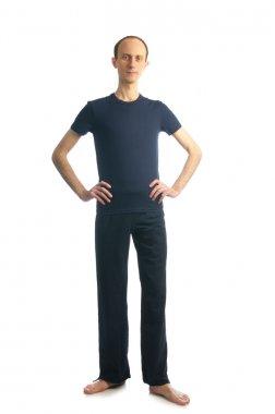Tall slim man