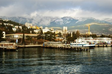 Port in the city of Yalta