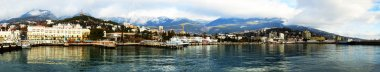 Yalta Port panorama