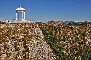 Windy Arbour.Crimean landscape.
