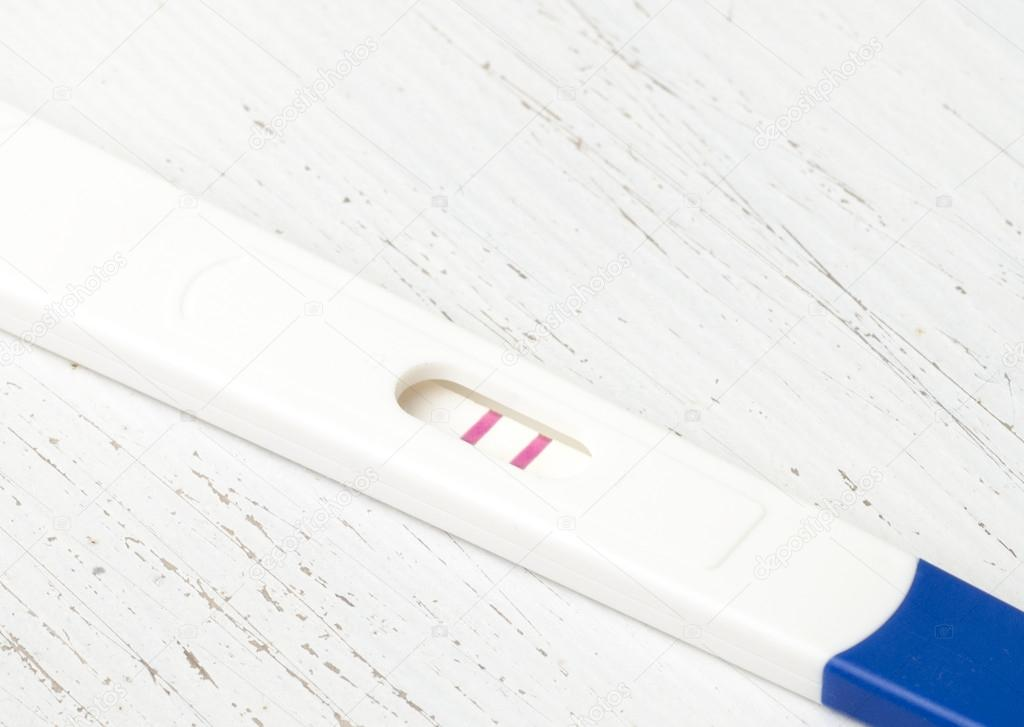Home Pregnancy Test With Positive Result Stock Photo C Nanka
