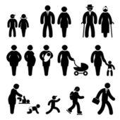 Lidé ve věku ikony