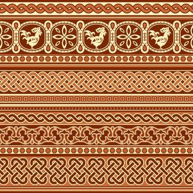 Slavic ornament seamless