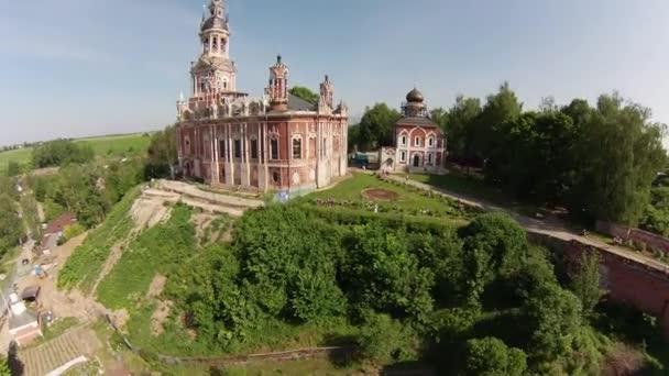 Letecký pohled na nové nikolsky katedrála
