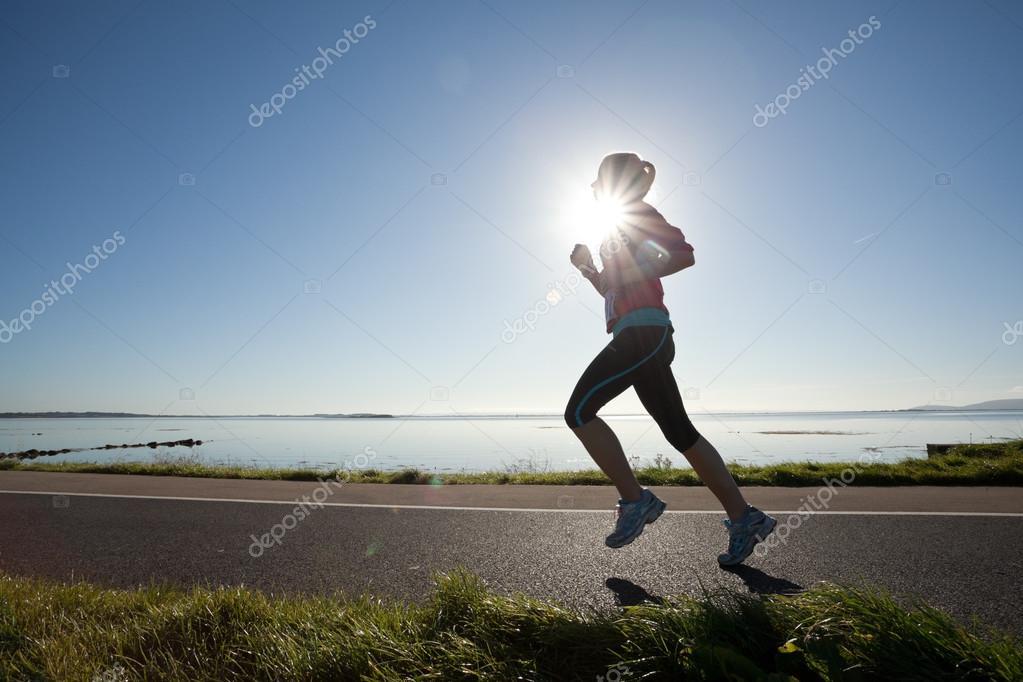 Female Runner, marathon