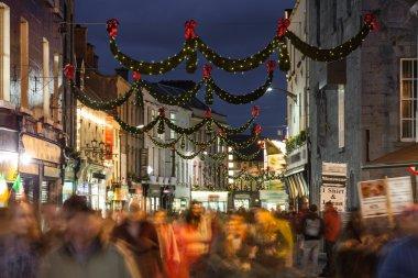 Shop street at night, Galway