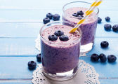 Fotografie Blueberry smoothie