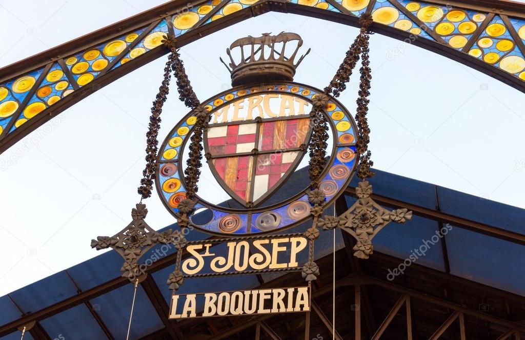 LA BOQUERIA emblem