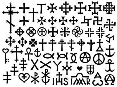 Heraldic Crosses and Christian Monograms