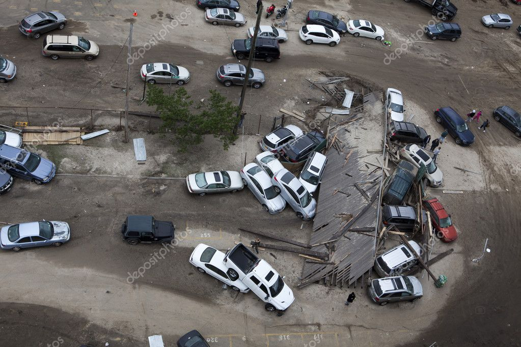Hurricane Sandy. The Aftermath in New York