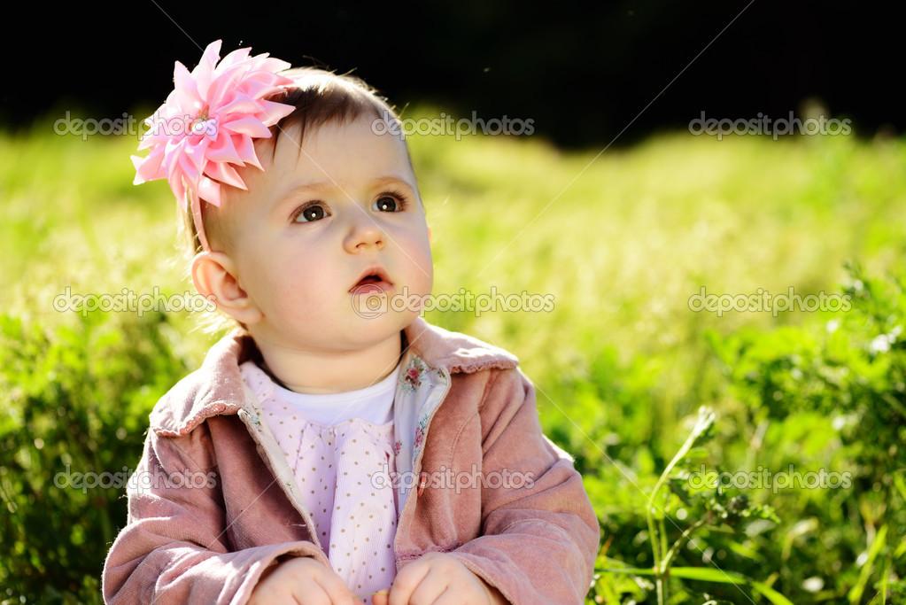 Cute Lovely Baby Stock Photo Reanas 24817151
