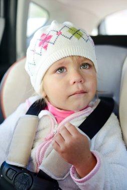 toddler crying in car