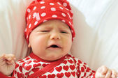 Fotografie traurig baby